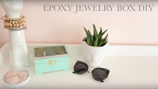 Epoxy Jewelry Box DIY