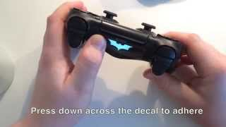 DualShock 4 Light Bar Decal Installation