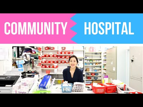 Hospital Vs. Community Pharmacy