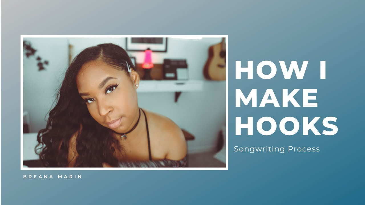 "How I make hooks | The Making of  ""Storm"" (beat with hook) Breana Marin"