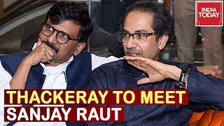 Watch Live Updates Of Uddhav Thackeray Leaving To Meet Sanjay Raut In Hospital