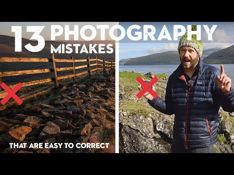 13 COMMON PHOTOGRAPHY MISTAKES I've made + Tips to AVOID doing the same thumbnail
