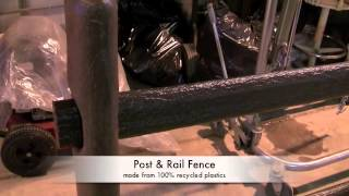 Manufacturing Split Rail | Post And Rail Fence ~ Traveling Cut-off Saw