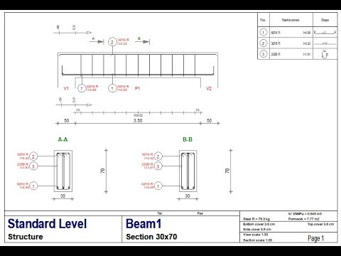 LESSON#11: DESIGNING A SINGLE RC BEAM IN AUTODESK ROBOT STRUCTURAL ANALYSIS