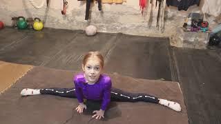 Тренировка по спортивной гимнастике, в своем зале