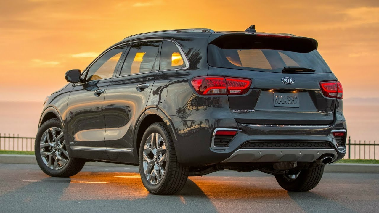 2019 kia sorento sxl 7 passenger 3 row seating suv youtube