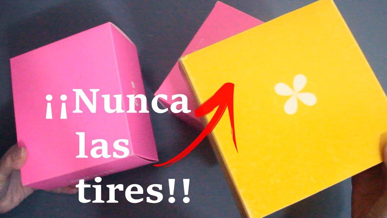 🌼NO TIRES LAS CAJAS DE CARTÓN!! 😍 Manualidades con cajas ♻ Reciclaje 💕 Arte en casa