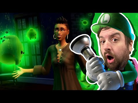 The Sims 4: Paranormal Stuff Pack Trailer Reaction |