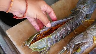 ALIEN SHRIMP Thailand Street Food