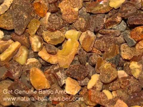 Raw Amber Stones - Natural Baltic Amber From Poland