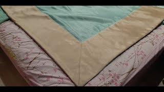 Как сшить покрывало своими руками. DIY Sew a blanket with your own hands