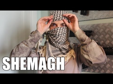 AIRSOFT | TUTO | TBC | How to wear a Shemagh / Keffiyeh