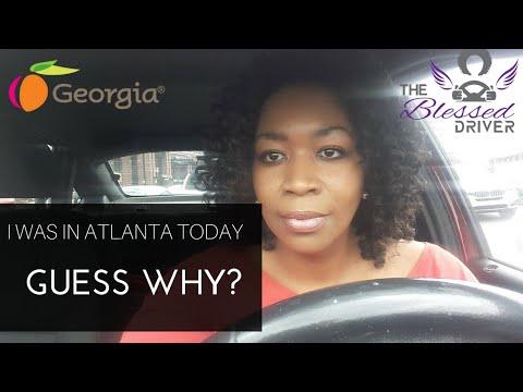 I was in Atlanta Georgia today  Lost my instacart debit card  LOL!