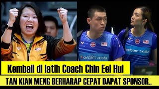 Kembali Dilatih Coach Chin Eei Hui, Tan Kian Meng Berharap Cepat Dapat Sponsor