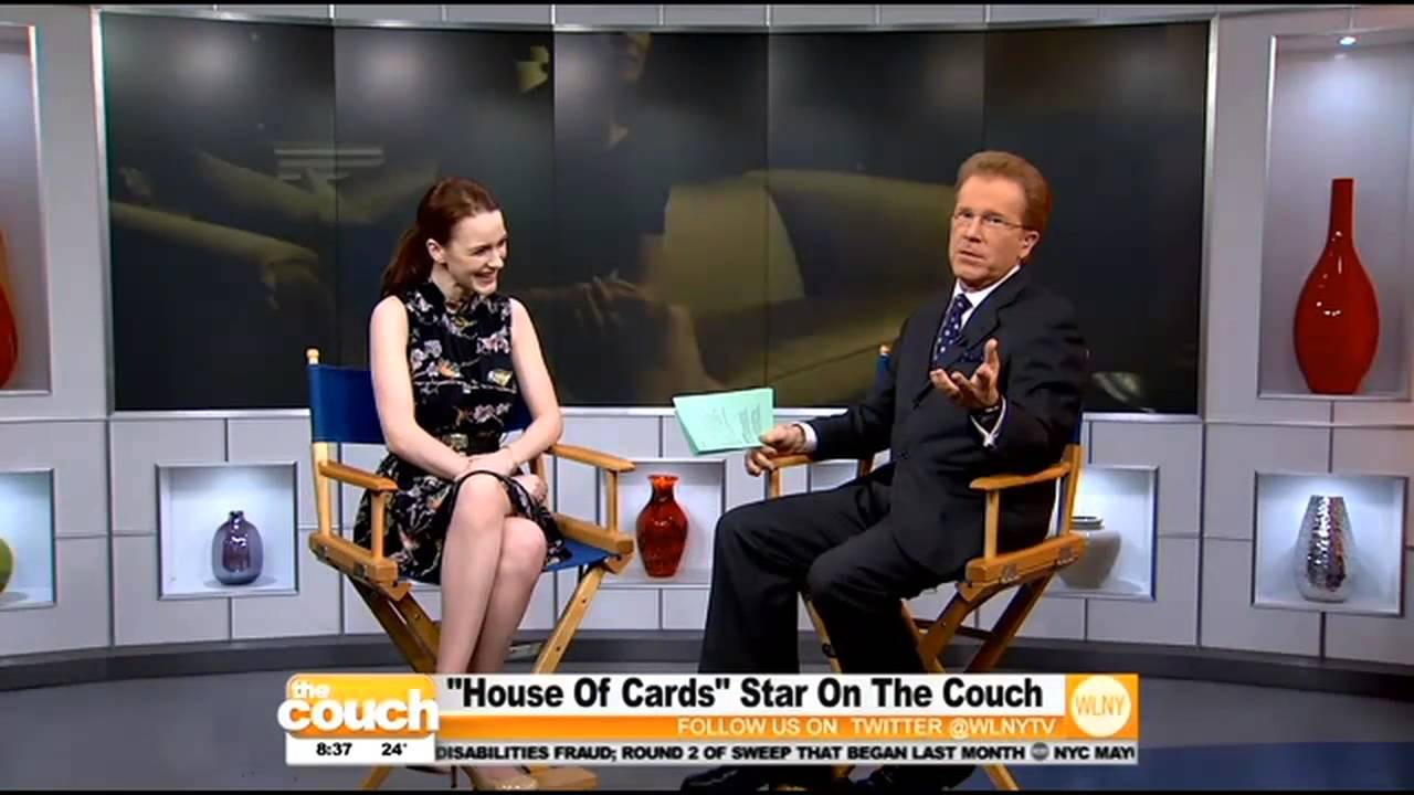 Quot House Of Cards Quot Star Rachel Brosnahan On The Couch Youtube