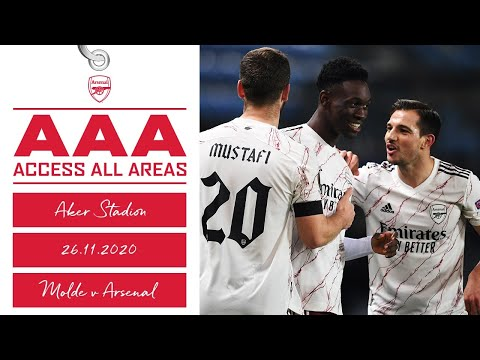 ACCESS ALL AREAS | Molde 0-3 兵工厂| Unseen footage of our Europa League trip!