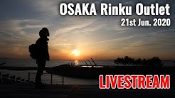 [Livestream/Osaka🇯🇵] Rinku Park and Outlet in front of Kansai Airport Let's Walk and Enjoy with me!