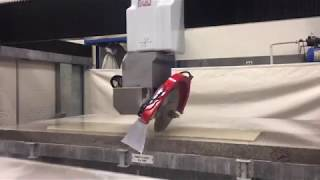 Precise mitering with a Sasso K600 Five Axis Saw