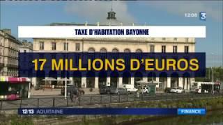 Suppression de la taxe d'habitation : Bayonne et Bidart s'inquiètent des compensations