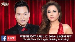 Livestream với Minh Tuyết & Đình Bảo - April 17, 2019