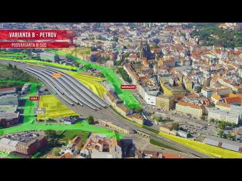 Železniční uzel Brno - studie proveditelnosti