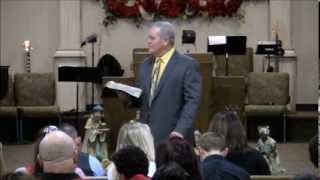 First Assembly of God Texarkana, Tx. - Pastor Hal Haltom - December 22, 2013