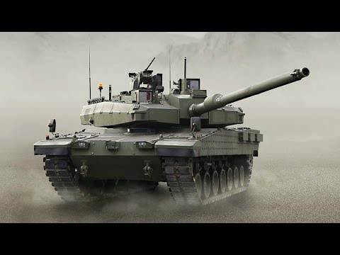 Turkish MB Tank ALTAY -  1080p HD