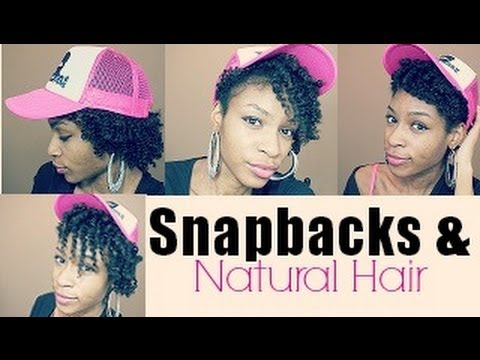 How To Wear A Snapback With Natural Hair