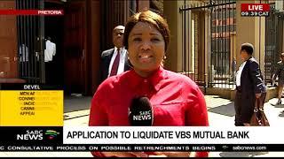 Application to liquidate VBS Mutual Bank