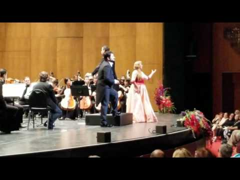 "Anna Netrebko & Yusif Eivasov - ""Brindisi"" at Los Angeles Opera 2017"