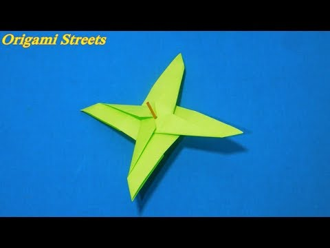 Origami Propeller Spinner Out Of Paper