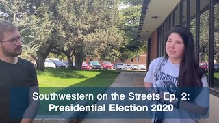 SWOSU students & the Presidential Election - Southwestern on the Streets Episode 2