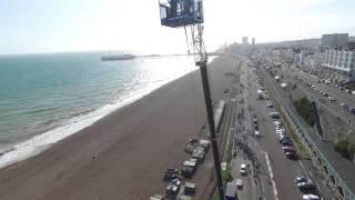 Brighton Beach Bungee 2015 - Rosie's Drone Footage