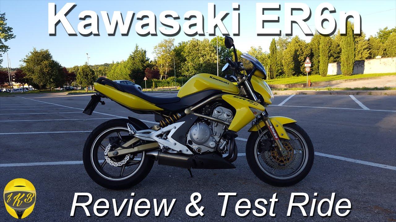 Review Test Ride Kawasaki Er6n Youtube