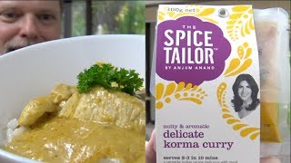 I Test The Spice Tailor Indian Korma Curry Mix