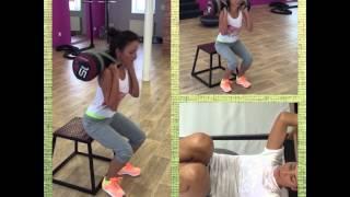 Karel Frýd osobní fitness trener a Veronika Arichteva