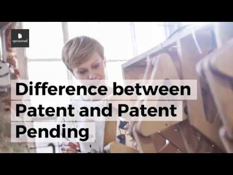 Difference between Patent and Patent Pending
