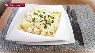Makaron w sosie kalafiorowym z parmezanem i chili (prosty, odżywczy, szybki) :: Skutecznie.Tv