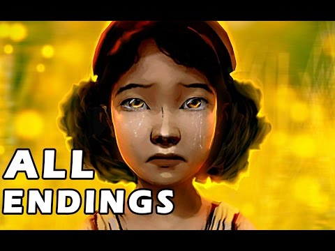 The Walking Dead Season 2 Episode 5 ALL ENDINGS CHOICES - Fu
