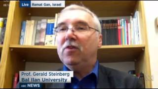 Prof. Gerald Steinberg, ABC News Australia, on Israel Elections, March 10, 2015