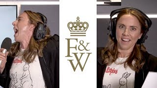On the Fity & Wippa Show, Mel C joined in for their weekly rap batt...