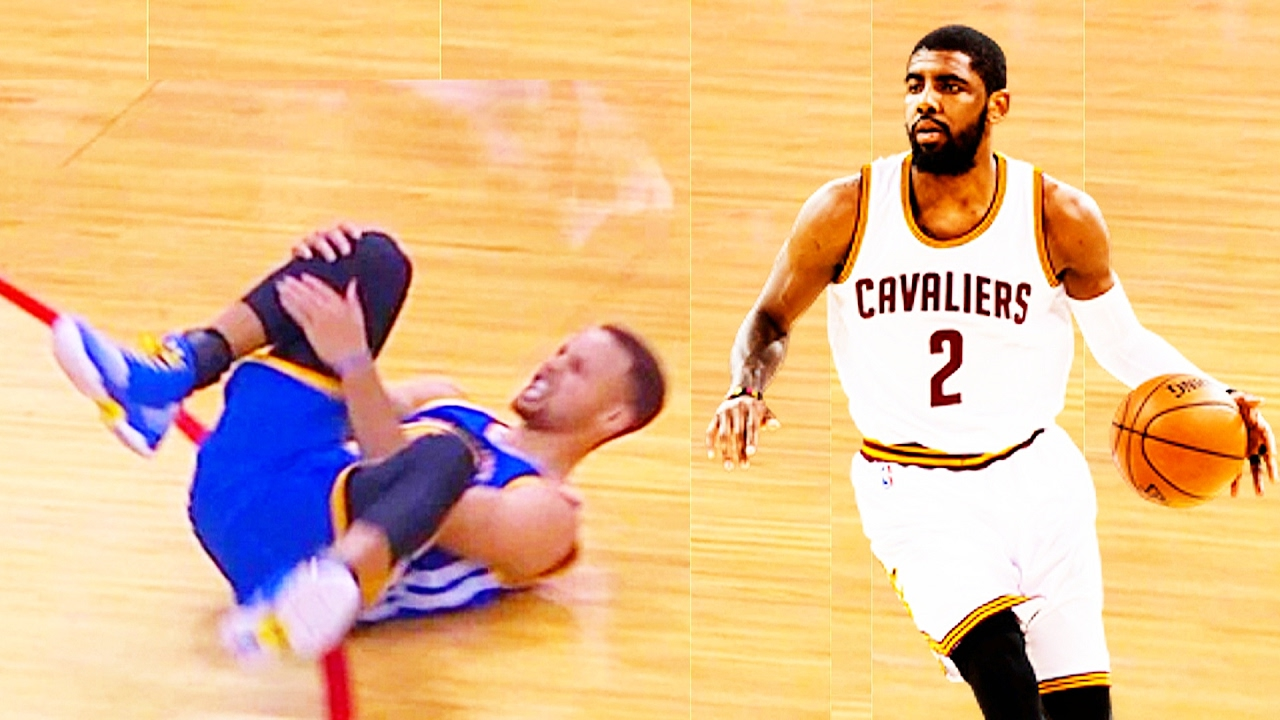 532b89d958c KYRIE IRVING DROPS STEPHEN CURRY! MUST SEE! - YouTube