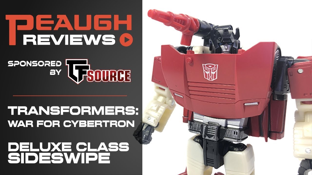 Download Video Review: Transformers: War for Cybertron SIEGE - Deluxe Class SIDESWIPE