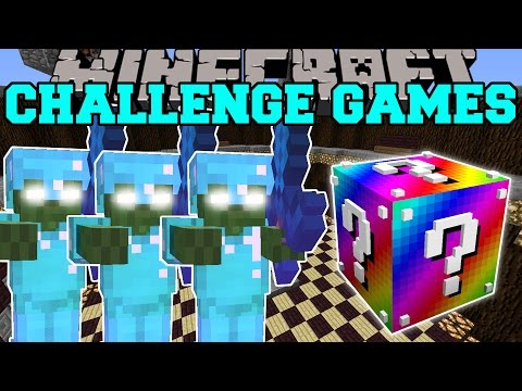 Thumbnail: Minecraft: BOB ARMY CHALLENGE GAMES - Lucky Block Mod - Modded Mini-Game