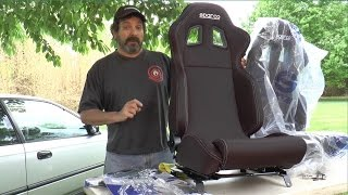 Sparco R100 After Market Seat Install / Review - Ain't Fuelin' Honda Civic Build