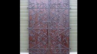 Reclaimed Antique Oak Pair Of Doors