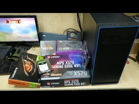 AMD 3rd GEN PC With MSI MPG X570 Gaming EDGE WiFi Motherboard & AMD Ryzen 7 3700X Processor