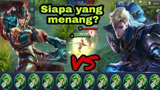 Zilong full damage VS Alucard full damage build, who win? (Siapa yang menang?) - Mobile legends
