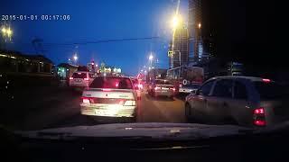 Авария 28.03.2017 на пр. Просвещения