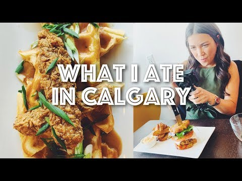 WHAT I ATE IN CALGARY (VEGAN) + ALICE FARM SANCTUARY | Lauren In Real Life
